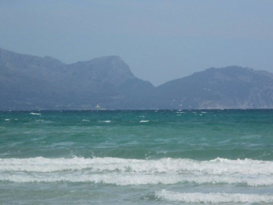 Viva Can Picafort: View from the beach