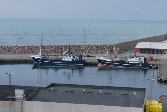 Hanstholm, เดนมาร์ก: Fishing boats