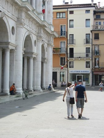 Piazza dei Signori: Strolling along ...