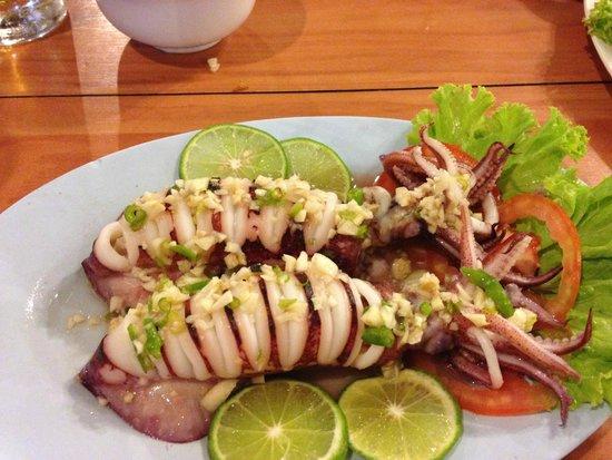 Mangrove Restaurant: calamaro all'aglio