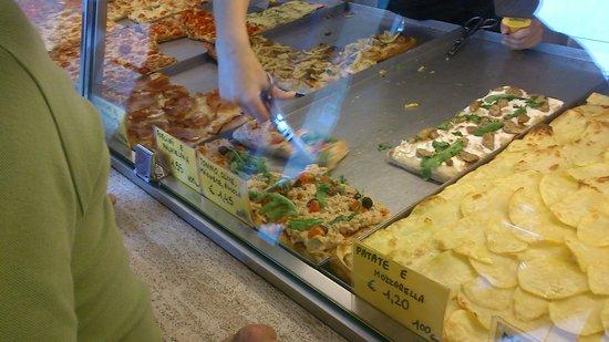 Pizza Florida: отрезают