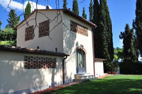 Villa I Barronci: The 'side house' we stayed in