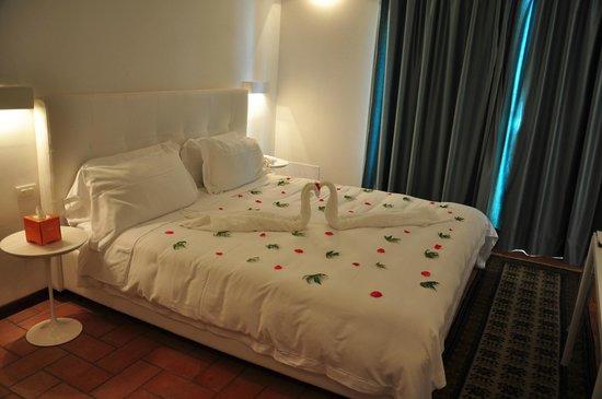 Villa I Barronci: Our room at arrival
