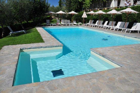 Villa I Barronci : The pool