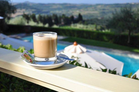 Villa I Barronci : Good morning