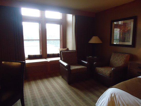 Wyoming Inn of Jackson Hole: My comfy window seat