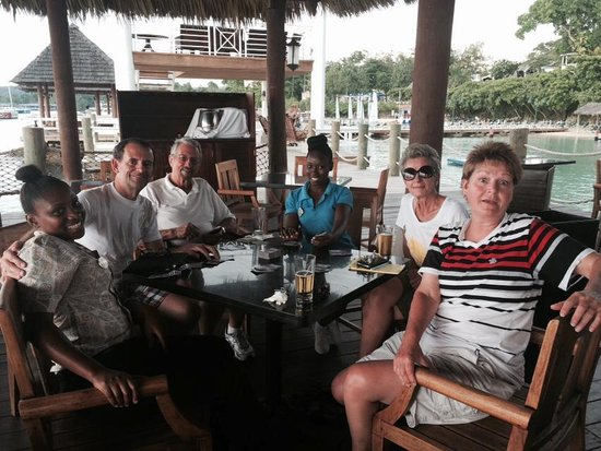 Sandals Ochi Beach Resort: Friendly Staff!