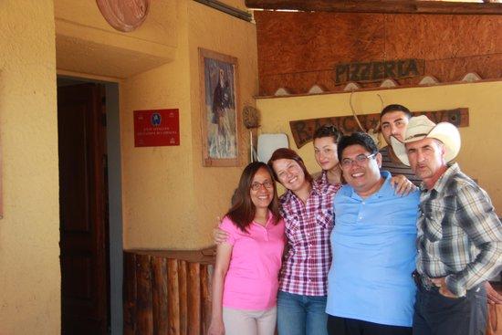 Toscana Ranch : With Marco, Silvia, Elena and Claudio