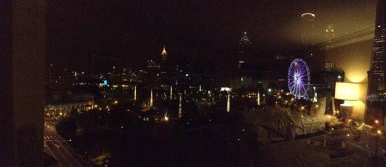 Omni Atlanta Hotel at CNN Center: view from our room