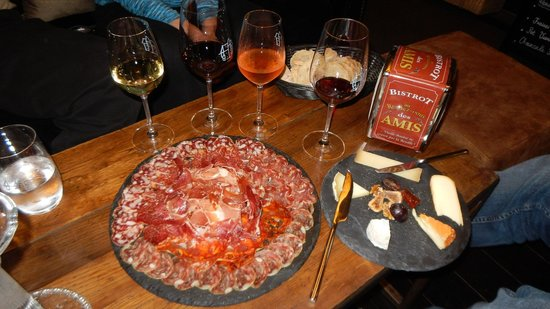 Maison du Colombier: Charcuterie and Fromage Plates