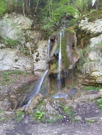 Wutachschlucht: interesting waterfall 2