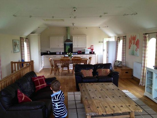Stainers Farm: Kitchen/Lounge