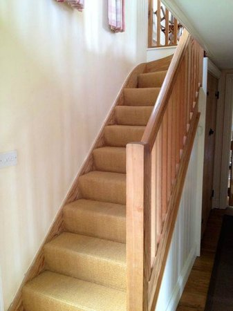Stainers Farm: stairs