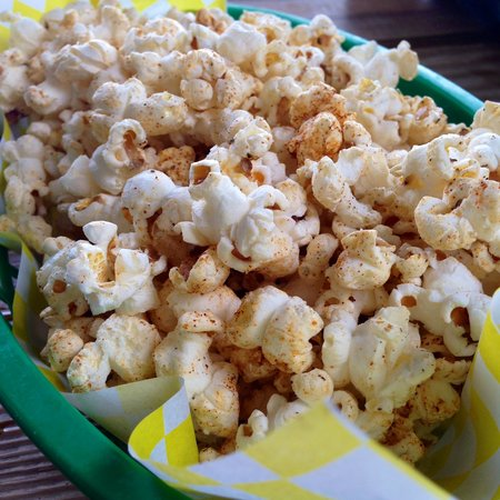 Cajun-Spiced Popcorn Recipe — Dishmaps