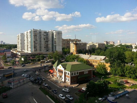 Holiday Inn Moscow Sokolniki : view from 7th floor