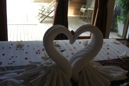 Tango Luxe Beach Villa : Vue de la chambre