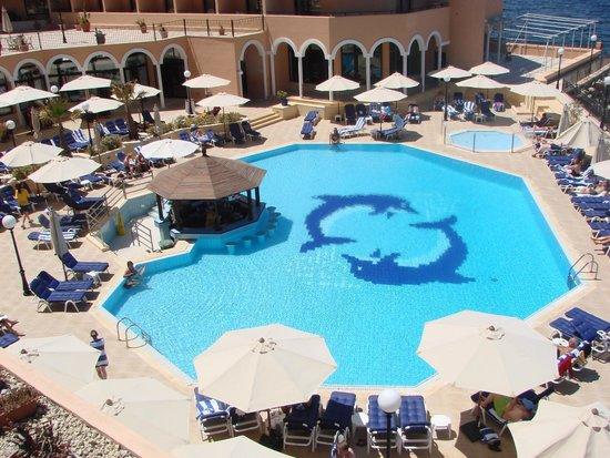 Radisson Blu Resort, Malta St Julian's: the pool