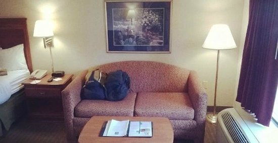 Quality Inn : Couch
