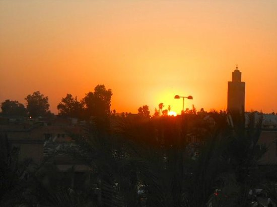 Riad Dixneuf La Ksour : Sunset at Riad Dixneuf
