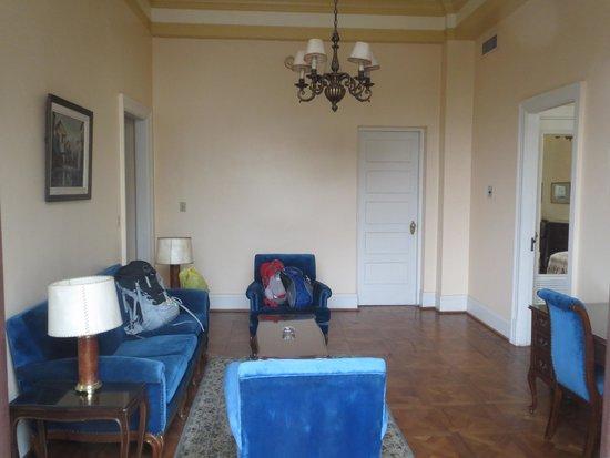 Gran Hotel Bolivar: living room of suite