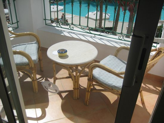 Baron Palms Resort Sharm El Sheikh : Balcony