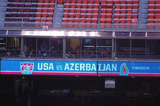 Candlestick Park: USA vs Azerbaijan
