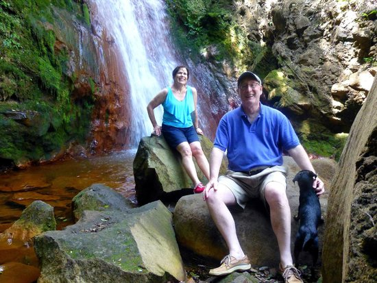 Maleku Tours: The trek up to this gorgeous waterfall was worth it.