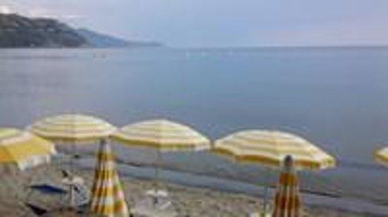 Albergo Ristorante da Carmine: Vista dalla camera della spiaggia