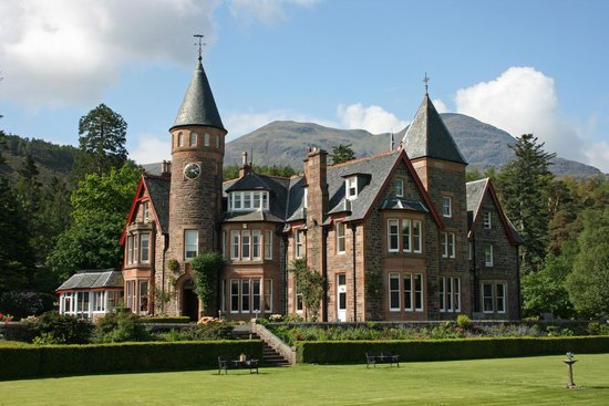 The Torridon : Hotel and gardens