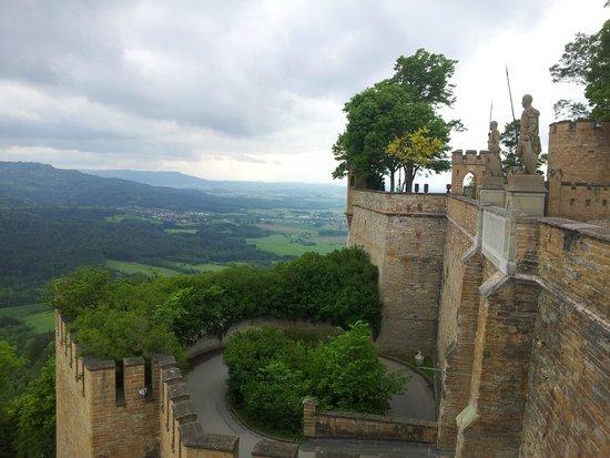 Burg Hohenzollern: view