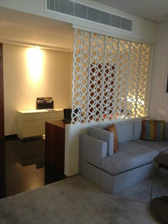 Jumeirah Emirates Towers: chill out room