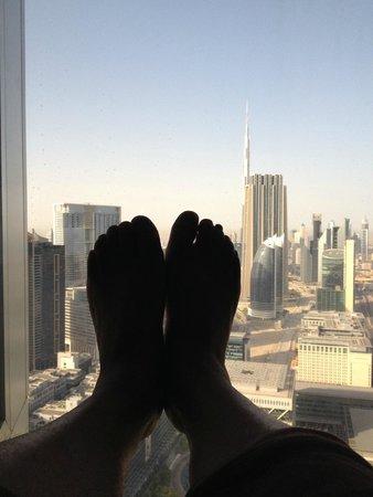 Jumeirah Emirates Towers : nice view