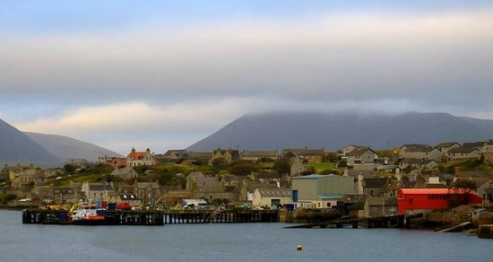 NorthLink Ferries: Stromness in the morning