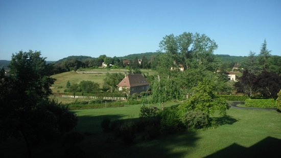 Hotel Le Clos Roussillon : Vista do quarto