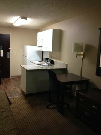 Extended Stay America - Orange County - John Wayne Airport: view from bed area - a studio room