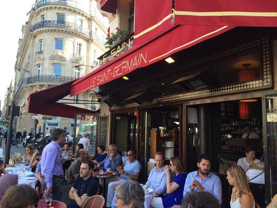 Le Saint Germain: La terrasse