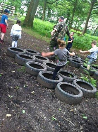 Umberslade Adventure: tyres