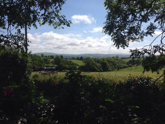 Penllwyndu Inn: View from the Beer Garden
