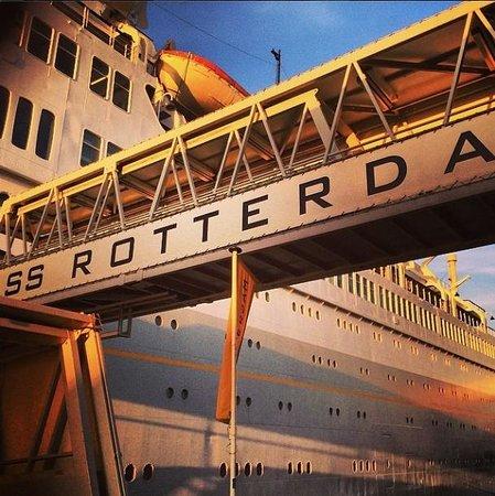 SS Rotterdam: De boot