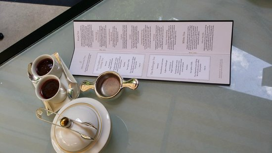 The Goring Bar & Lounge: Tea Menu @ the Goring