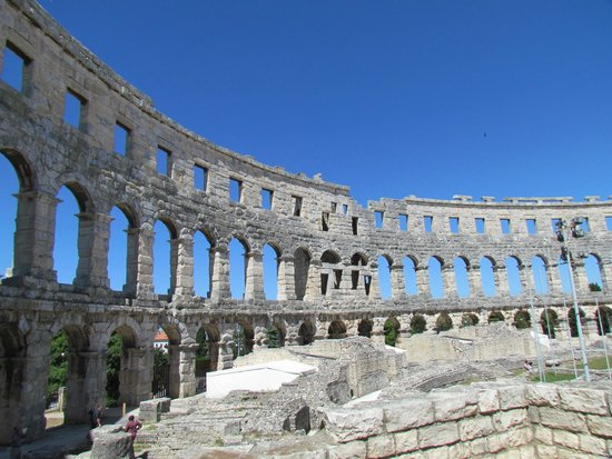 Hotel Scaletta: The magnificent Pula amphitheatre