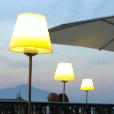 Grand Hotel La Favorita : Alfresco dining