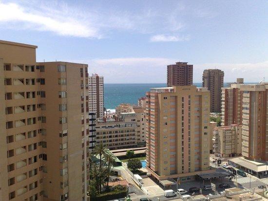 Cervantes: Vista desde la terraza