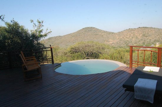 Thanda Safari : view from the deck