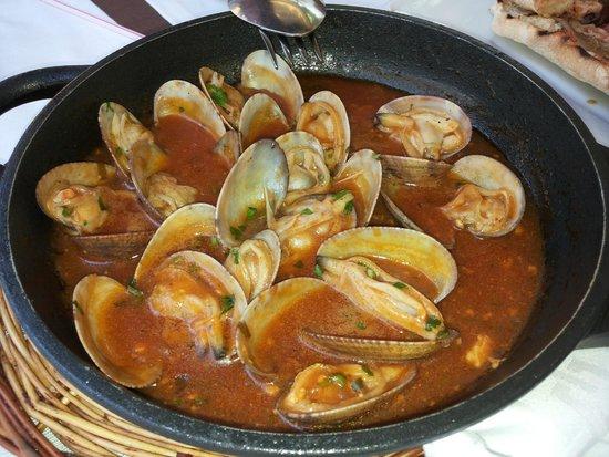 Restaurant Can Pini : Almejas marinera excelentes
