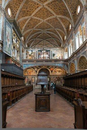 Chiesa di San Maurizio al Monastero Maggiore: Aula posteriore - coro