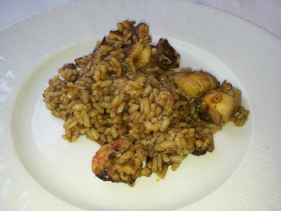 Restaurant Can Pini : Arrocito mmmm...