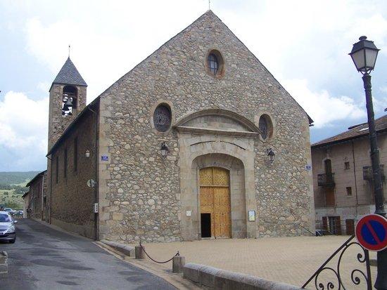 Le Clos Cerdan : Eglise de Mont-Louis