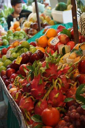 Pak Khlong Talat (Flower Market) : Фрукты