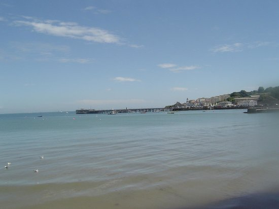 Swanage Bay View: Swanage Bay, towards Pier